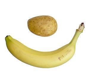 peruna ja banaani